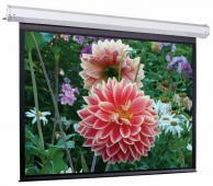 Экран с электроприводом ScreenMedia Elegant 488×366 FMW